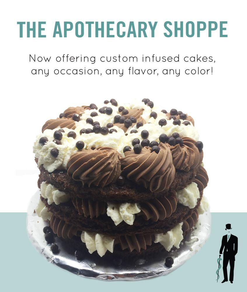 You must try their cannabis infused cakes at the apothecary shoppe too!